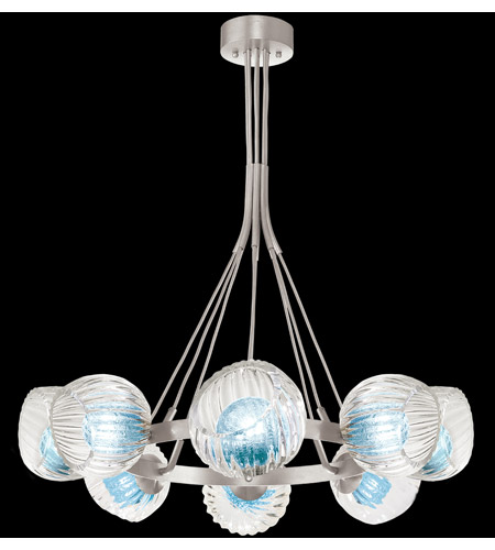 Fine Art Lamps 899240-1AQ Nest 8 Light 39 inch Silver Pendant Ceiling Light photo thumbnail