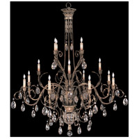 Fine Art Lamps 136740-2ST A Midsummer Nights Dream 16 Light 57 inch Cool Moonlit Patina Chandelier Ceiling Light