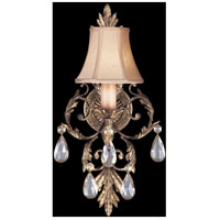 Fine Art Lamps A Midsummer Nights Dream 1 Light Sconce in Cool Moonlit Patina 163150ST