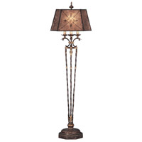 Villa 1919 69 inch 150 watt Rich Umber w/ Gilded Accents Floor Lamp Portable Light