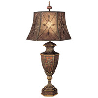 Villa 1919 37 inch 150 watt Rich Umber w/ Gilded Accents Table Lamp Portable Light
