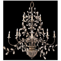 Fine Art Lamps 175940ST A Midsummer Nights Dream 12 Light 70 inch Gold Chandelier Ceiling Light