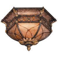 Fine Art Lamps 182145ST Villa 1919 2 Light 23 inch Bronze Flush Mount Ceiling Light