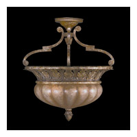 Fine Art Lamps A Midsummer Nights Dream 2 Light Semi-Flush Mount in Cool Moonlit Patina 203745ST