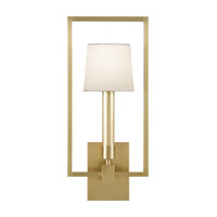 Grosvenor Square 1 Light 9 inch Antique Brass Wall Sconce Wall Light