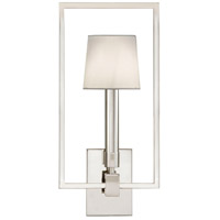 Fine Art Lamps 211250ST Grosvenor Square 1 Light 9 inch Silver Sconce Wall Light