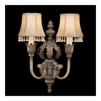 Fine Art Lamps A Midsummer Nights Dream 2 Light Sconce in Cool Moonlit Patina 213350ST