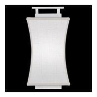 Fine Art Lamps Black and White Story 1 Light Coupe in Studio White Satin Lacquer 232850-5ST