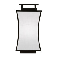 Fine Art Lamps Black and White Story 1 Light Coupe in Black Satin Lacquer 232850-6ST