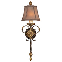 Fine Art Lamps Castile 1 Light Sconce in Antiqued Finish 234450ST