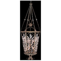 Fine Art Lamps Winter Palace 10 Light Pendant in Warm Antiqued Silver 301140ST