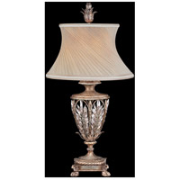 Fine Art Lamps Winter Palace 1 Light Table Lamp in Warm Antiqued Silver 301610ST