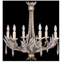 Winter Palace 6 Light 26 inch Silver Chandelier Ceiling Light