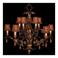Fine Art Lamps Brighton Pavillion 10 Light Chandelier in Bronzed Sienna 303940ST