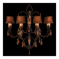 Brighton Pavillion 8 Light 35 inch Bronzed Sienna Chandelier Ceiling Light
