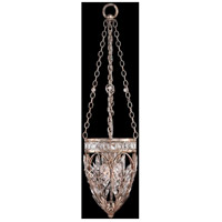 Fine Art Lamps Winter Palace 3 Light Pendant in Warm Antiqued Silver 308840ST