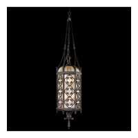 Fine Art Lamps Costa del Sol 6 Light Outdoor Lantern in Marbella Wrought Iron 325182ST