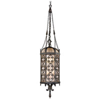 Fine Art Lamps Costa del Sol 4 Light Outdoor Lantern in Marbella Wrought Iron 325282ST