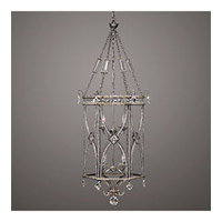 Fine Art Lamps Winter Palace 8 Light Pendant in Warm Antiqued Silver 326540ST