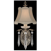 Fine Art Lamps Winter Palace 1 Light Sconce in Warm Antiqued Silver 327650ST