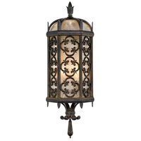 Costa del Sol 2 Light 24 inch Wrought Iron Outdoor Coupe