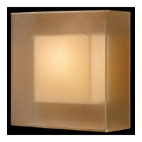 Quadralli 1 Light 11 inch Rich Bourbon Coupe Wall Light