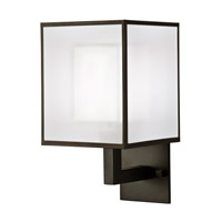 Fine Art Lamps Black + White Story 1 Light Sconce in Black Satin Lacquer 331150-6ST