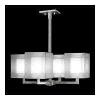 Fine Art Lamps Quadralli 4 Light Chandelier in Silver Leaf 331240-2ST photo thumbnail