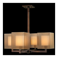 Fine Art Lamps Quadralli 4 Light Chandelier in Rich Bourbon 331240ST