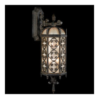 Fine Art Lamps Costa del Sol 6 Light Outdoor Wall Mount in Marbella Wrought Iron 338481ST