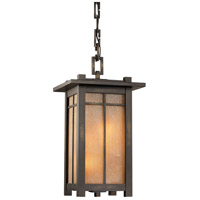 Fine Art Lamps Capistrano 4 Light Outdoor Lantern in Warm Bronze Patina 400880ST