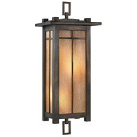 Capistrano 2 Light 28 inch Warm Bronze Patina Outdoor Coupe