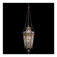 Fine Art Lamps Chateau Outdoor 6 Light Outdoor Lantern in Variegated Rich Umber Patina 402482ST
