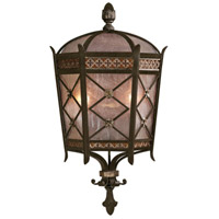Fine Art Lamps Chateau Outdoor 2 Light Outdoor Coupe in Variegated Rich Umber Patina 402781ST