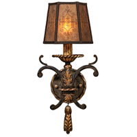 Fine Art Lamps Epicurean 1 Light Sconce in Charred Iron 406850ST