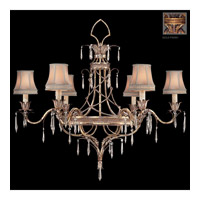 Pastiche 6 Light 42 inch Antique Gold Chandelier Ceiling Light