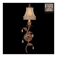 Fine Art Lamps 408050-1ST Pastiche 1 Light 8 inch Silver Wall Sconce Wall Light
