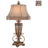 Fine Art Lamps 411310-1ST Pastiche 40 inch 150 watt Silver Table Lamp Portable Light