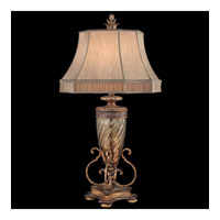 Pastiche 40 inch 150 watt Antique Gold Table Lamp Portable Light