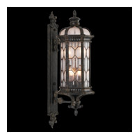 Fine Art Lamps Devonshire 4 Light Outdoor Wall Mount in Antiqued Bronze 413981ST