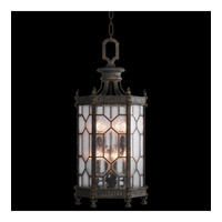 Fine Art Lamps 414282-1ST Devonshire 8 Light 16 inch Antique Bronze Outdoor Lantern