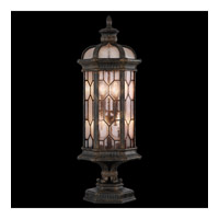 Devonshire 4 Light 35 inch Antiqued Bronze Outdoor Pier Mount