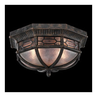 Devonshire 2 Light 16 inch Antiqued Bronze Outdoor Flush Mount