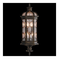 Devonshire 3 Light 28 inch Antiqued Bronze Outdoor Coupe