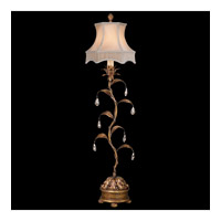 Pastiche 36 inch 60 watt Antique Gold Console Lamp Portable Light