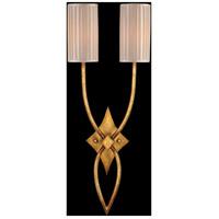 Fine Art Lamps 418850ST Portobello Road 2 Light 12 inch Gold Wall Sconce Wall Light