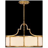 Fine Art Lamps 420140ST Portobello Road 3 Light 24 inch Gold Pendant Ceiling Light