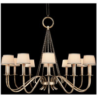 Fine Art Lamps Portobello Road 12 Light Chandelier in Platinized Silver 420840ST