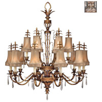 Fine Art Lamps 428040-1ST Pastiche 16 Light 48 inch Silver Chandelier Ceiling Light