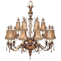 Pastiche 16 Light 48 inch Gold Chandelier Ceiling Light